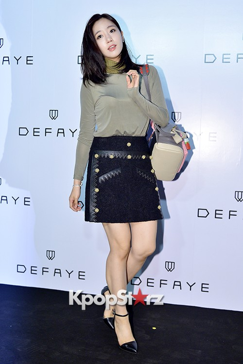 T-ara's Eunjung Attends DEFAYE Launching Event key=>15 count19