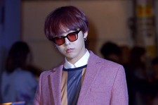 Big Bang's G-Dragon Attends Acne Studios Launching Event