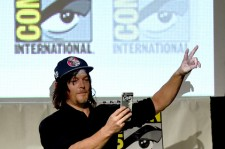 Norman Reedus at the 2015 Comic-Con.