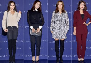 Park Ye Jin, Park Jung Ah, Park Han Byul and Choi Yoon Young Attend Estée Lauder Launching Event