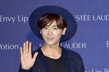 ZE:A's Park Hyung Sik Attends Estée Lauder Launching Event