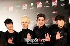 Super Junior at Grand Winners Press Conference
