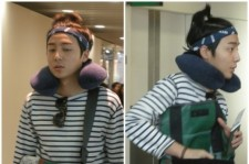 Roy Kim's Airport Fashion... 'Too Comfortable?'