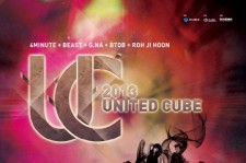 Cube Entertainment's Second '2013United Cube Concert' Tour in China, Japan and Korea