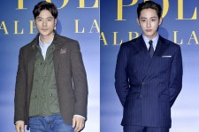Kim Kang Woo and Lee Soo Hyuk Attend RALPH LAUREN POLO Store Opening Event