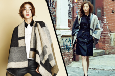 After School Uee Style Chusun Magazine October 2015 Kang So Ra Cosmopolitan Magazine Photoshoot Burberry