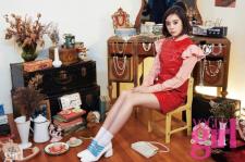 Wonder Girls Lim Vogue Girl Magazine October 2015 Photoshoot Fashion