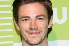 Grant Gustin on May 14, 2015 at the CW Network's New York 2015 Upfront Presentation