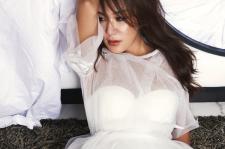 uhm jung hwa esquire magazine october 2015 photoshoot
