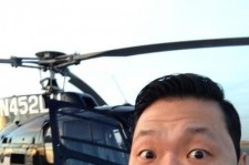 'World Star' Psy Reveals Private Helicopter, 'On Way to New York'