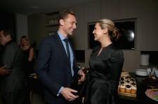 Tom Hiddleston and Elizabeth Olsen.