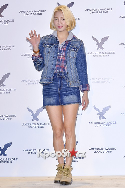 Girls Generation[SNSD] Hyoyeon Attends American Eagle Outfitters Launching Eventkey=>6 count22