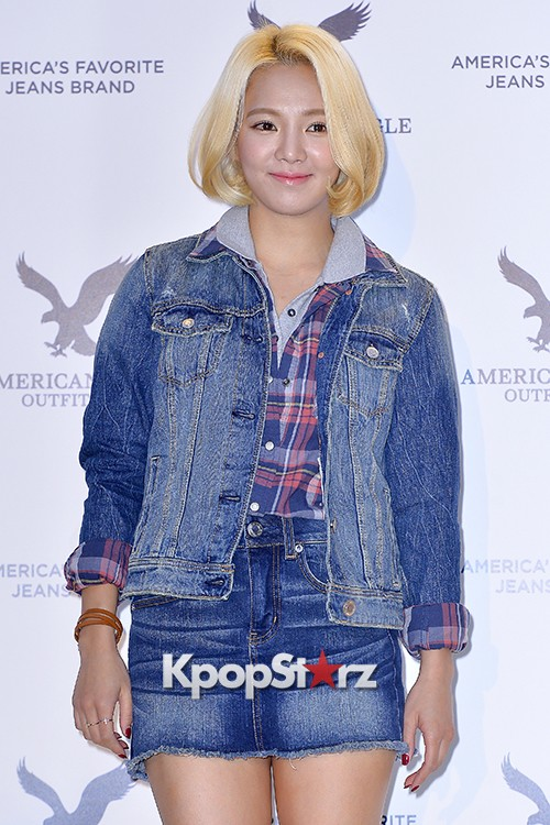 Girls Generation[SNSD] Hyoyeon Attends American Eagle Outfitters Launching Eventkey=>8 count22