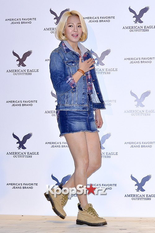 Girls Generation[SNSD] Hyoyeon Attends American Eagle Outfitters Launching Eventkey=>12 count22
