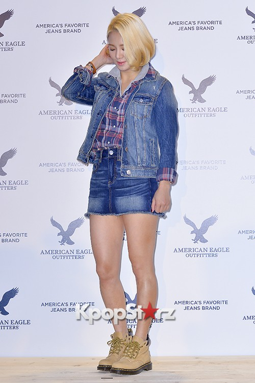 Girls Generation[SNSD] Hyoyeon Attends American Eagle Outfitters Launching Eventkey=>18 count22