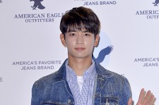 SHINee's Minho Attends American Eagle Outfitters Launching Event