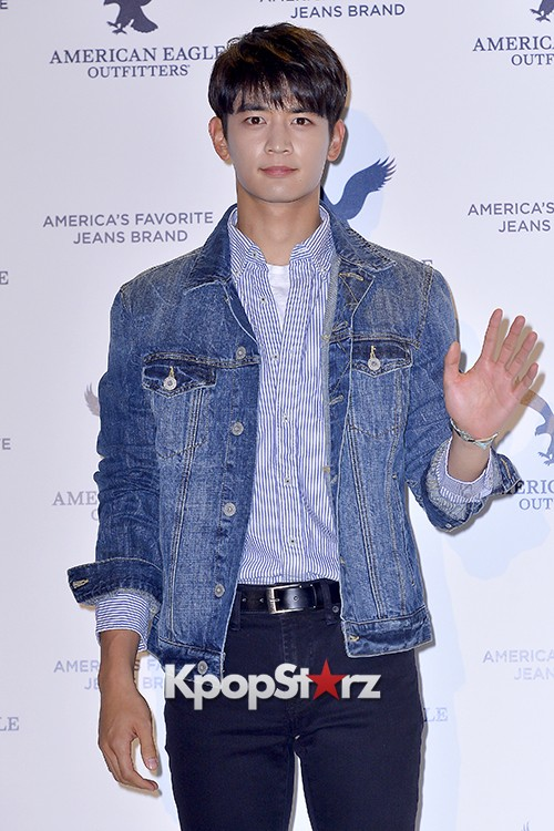 SHINee's Minho Attends American Eagle Outfitters Launching Event key=>0 count20