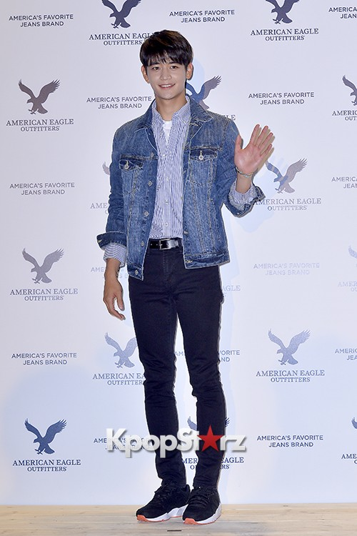 SHINee's Minho Attends American Eagle Outfitters Launching Event key=>13 count20