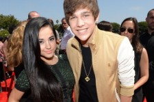 Becky G and Austin Mahone in 2013.
