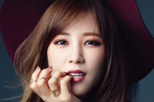 A Pink's Chorong Sure Magazine October 2015 Photoshoot Makeup