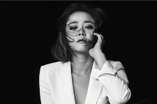 Korean Actress Moon Geun Young Harper's Bazaar Magazine October 2015 Photoshoot Fashion