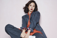 Korean Actress Gong Hyo Jin Elle Magazie October Suecomma Bonnie 2015 Fall-Winter Collection