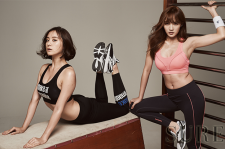 Wonder Girls' Lim and miss A's Jia Sure Magazine October 2015 Photoshoot Fashion