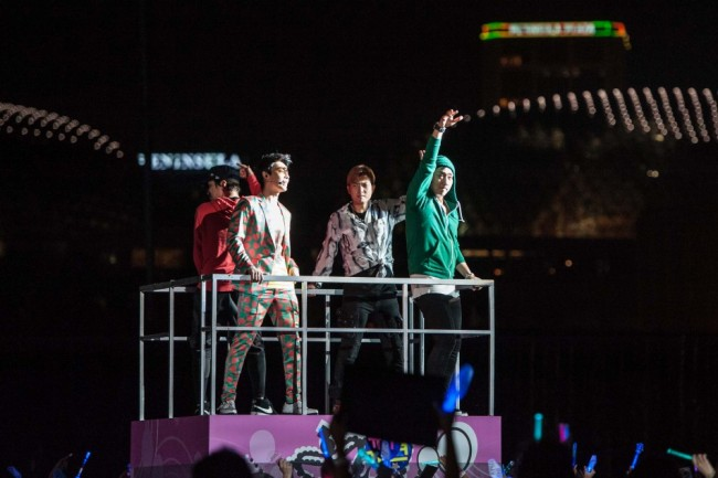 SM Artists Make A Splash In SMTown Live World Tour III in Singapore [PHOTOS]key=>6 count34