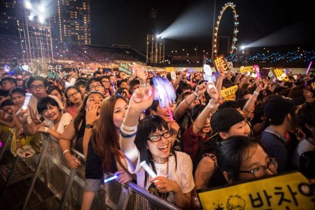 SM Artists Make A Splash In SMTown Live World Tour III in Singapore [PHOTOS]key=>11 count34
