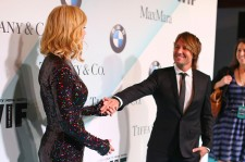 Nicole Kidman and Keith Urban at the Women In Film 2015 Crystal + Lucy Awards arrivals.