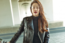 actress Choi Yeo Jin cosmopolitan magazine november 2015 photoshoot