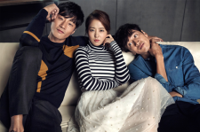 Park Bo Young, Lee Kwang Soo and Lee Chun Hee Cosmopolitan Magazine November 2015