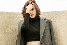 Son Dam Bi Singles Magazine October 2015 Photoshoot Fashion