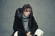 Korean actress Son Tae Young InStyle Magazine October 2015 Photoshoot fashion