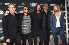 The Foo Fighters at the 30th Annual Rock And Roll Hall Of Fame Induction Ceremony.