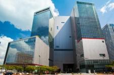 CJ E&M Building in Seoul
