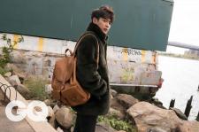 SHINee Choi Minho GQ Magazine November 2015 Photoshoot Fashion