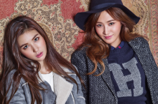 SNSD Kwon Yur VIvian Sure Magazine November 2015 Photoshoot Fashion