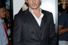 Rupert Friend attends the New York premiere of 'Hitman Agent 47' on August 13, 2015 in New York City