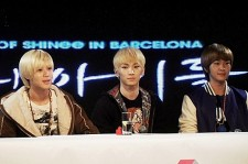 Shinee in recent conference