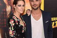 Kristen Stewart and Taylor Lautner at the