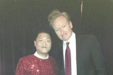 Psy Reveals Picture Taken with Conan O'Brien