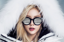4minute kim hyuna CLRIDE.N brand fall winter 2015 pictures