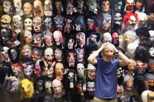 Halloween masks at Fantasy Costumes on October 28, 2014 in Chicago, Illinois.