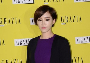 Brown Eyed Girls's Gain attends Italy Fashion Magazine 'GRAZIA' Launching Party