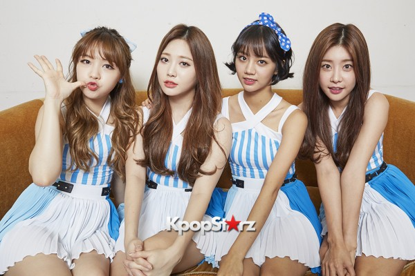 Girl's Day Are Adorably Sweet For KpopStarz Interview & Photo Shoot In Japan - September 2015 [PHOTOS]key=>2 count23