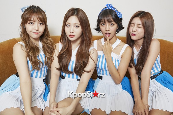 Girl's Day Are Adorably Sweet For KpopStarz Interview & Photo Shoot In Japan - September 2015 [PHOTOS]key=>4 count23