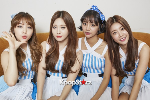 Girl's Day Are Adorably Sweet For KpopStarz Interview & Photo Shoot In Japan - September 2015 [PHOTOS]key=>5 count23