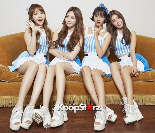 Girl's Day Are Adorably Sweet For KpopStarz Interview & Photo Shoot In Japan - September 2015 [PHOTOS]key=>14 count23
