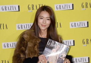 Kahee attends Italy Fashion Magazine 'GRAZIA' Launching Party
